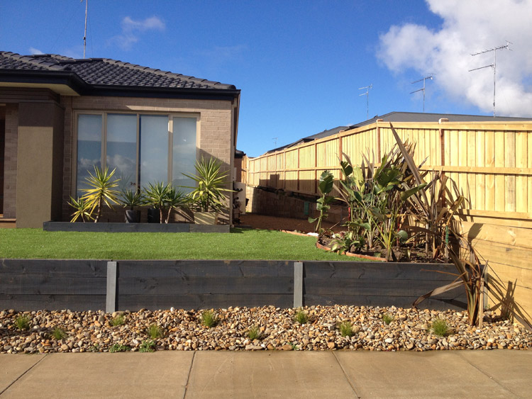Retaining walls geelong leprechaun landscaping services for Landscaping rocks geelong